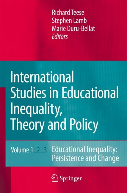 International Studies in Educational Inequality, Theory and Policy | Duru-Bellat / Lamb / Teese | Softcover reprint of the original 1st ed. 2007, 2016 | Buch (Cover)