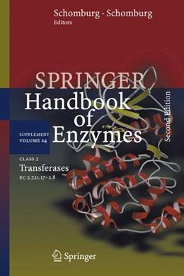 Abbildung von Schomburg | Class 2 Transferases | Softcover reprint of the original 2nd ed. 2009 | 2016 | EC 2.7.11.17-2.8