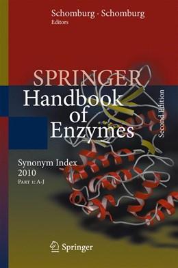 Abbildung von Schomburg   Synonym Index 2010   Softcover reprint of the original 2nd ed. 2010   2016