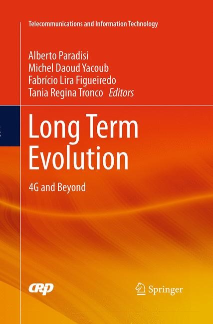 Long Term Evolution | Lira Figueiredo / Paradisi / Tronco / Yacoub | Softcover reprint of the original 1st ed. 2016, 2016 | Buch (Cover)