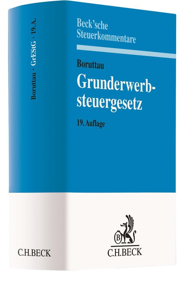 Grunderwerbsteuergesetz: GrEStG | Boruttau | 19. Auflage, 2018 | Buch (Cover)