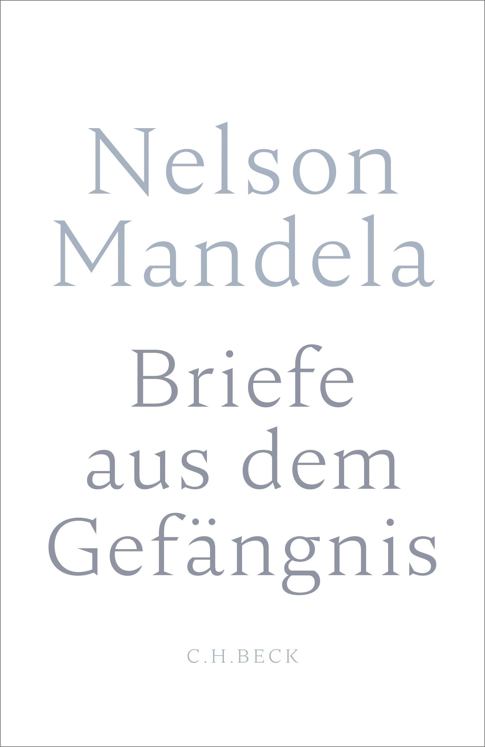 Briefe aus dem Gefängnis | Mandela, Nelson, 2018 | Buch (Cover)