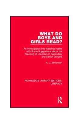 Abbildung von Jenkinson | What do Boys and Girls Read? | 1. Auflage | 2017 | beck-shop.de