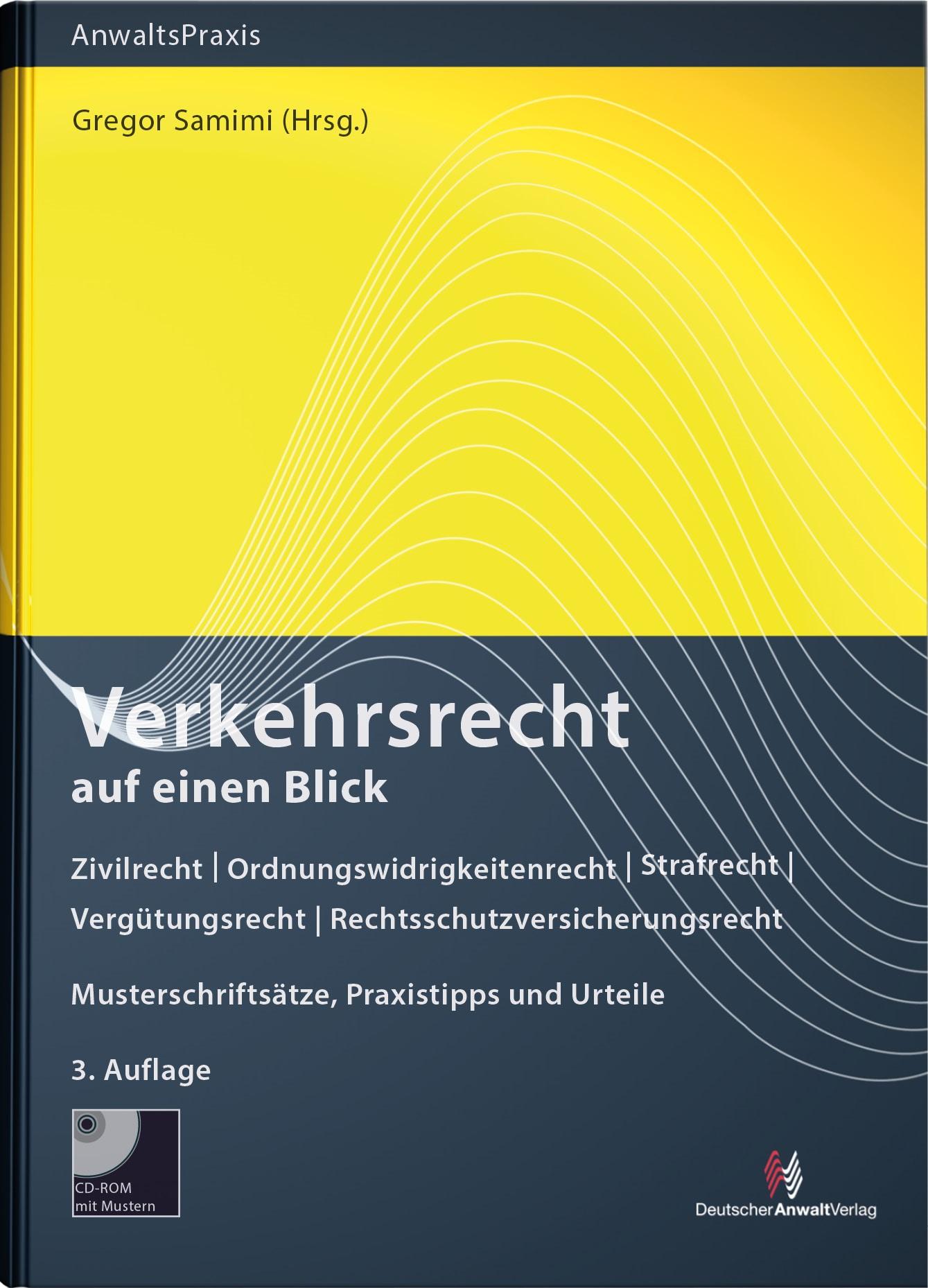 Verkehrsrecht auf einen Blick | Samimi (Hrsg.) | 3. Auflage, 2019 | Buch (Cover)