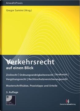 Abbildung von Samimi (Hrsg.) | Verkehrsrecht auf einen Blick | 3. Auflage | 2020 | Zivilrecht - Ordnungswidrigkei...