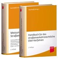 Handbuch für das straßenverkehrsrechtliche OWi-Verfahren + Messungen im Straßenverkehr • Set   Burhoff / Grün, 2017   Buch (Cover)