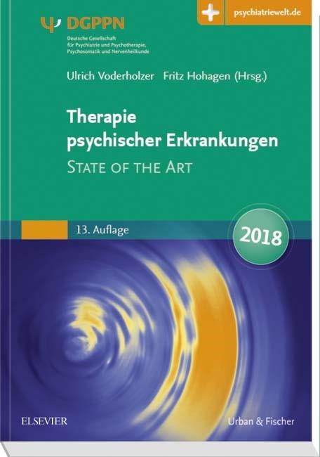 Therapie psychischer Erkrankungen | Voderholzer / Hohagen (Hrsg.) | 13. Auflage., 2017 (Cover)