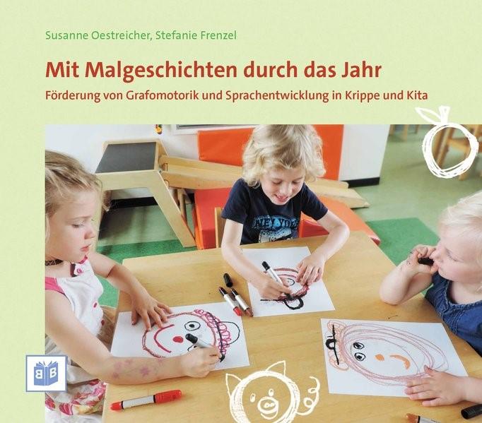 Mit Malgeschichten durch das Jahr | Oestreicher / Frenzel, 2017 | Buch (Cover)
