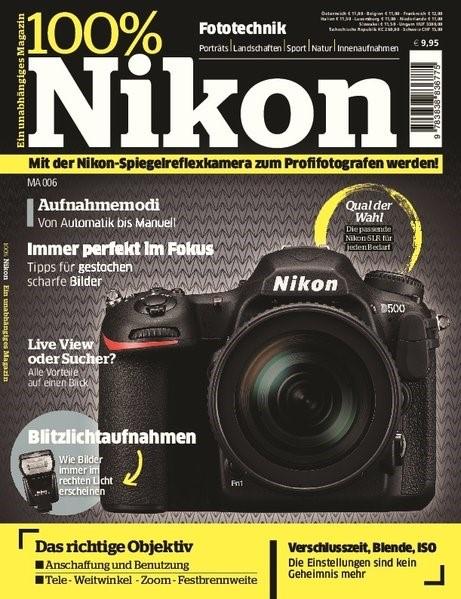 100% Nikon, 2017   Buch (Cover)
