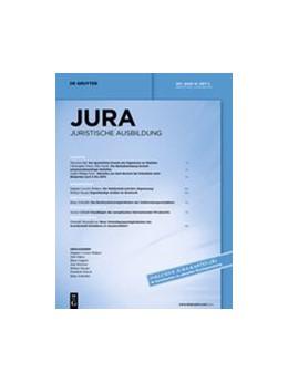 Abbildung von JURA - Juristische Ausbildung | 41. Band | 2019