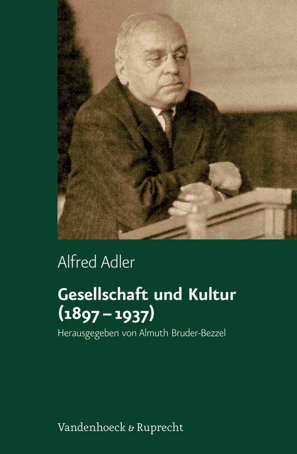 Gesellschaft und Kultur (1897–1937) | Adler / Bruder-Bezzel, 2009 | Buch (Cover)