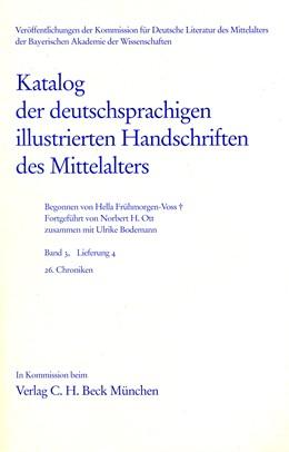 Abbildung von Bodemann, Ulrike / Frühmorgen-Voss, Hella | Katalog der deutschsprachigen illustrierten Handschriften des Mittelalters Band 3, Lieferung 4 | 1. Auflage | 2002 | beck-shop.de