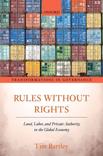 Rules without Rights | Bartley, 2018 | Buch (Cover)
