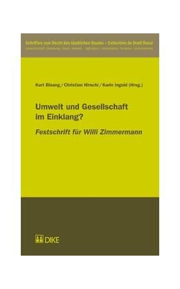 Abbildung von Bisang / Hirschi   Umwelt und Gesellschaft im Einklang?   1. Auflage   2011   4   beck-shop.de
