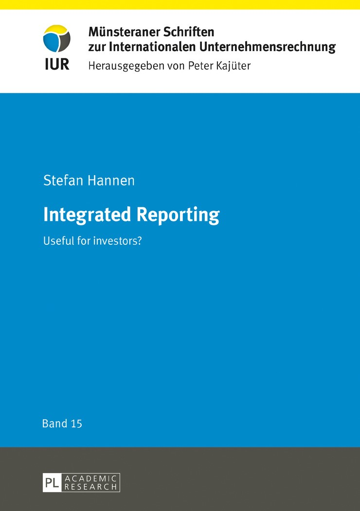 Integrated Reporting | Hannen, 2017 | Buch (Cover)