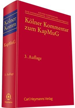 Abbildung von Hess / Reuschle / Rimmelspacher (Hrsg.)   Kölner Kommentar zum Kapitalmusterverfahrensgesetz (KapMuG)   3. Auflage   2022