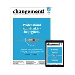 Abbildung von changement | 3. Jahrgang | 2019 | Veränderungsprozesse aktiv und...