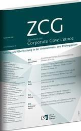 ZCG • Zeitschrift für Corporate Governance | 12. Jahrgang (Cover)