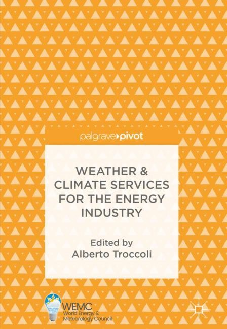 Weather & Climate Services for the Energy Industry | Troccoli | 1st ed. 2018, 2017 | Buch (Cover)