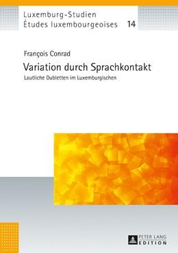 Abbildung von Conrad   Variation durch Sprachkontakt   2017   Lautliche Dubletten im Luxembu...