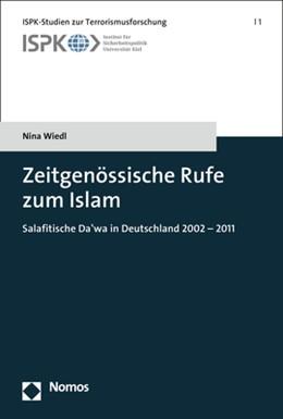 Abbildung von Wiedl | Zeitgenössische Rufe zum Islam | 2017 | Salafitische Da'wa in Deutschl... | 1