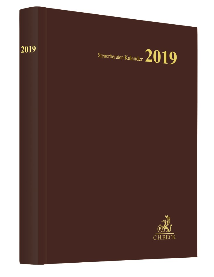 Steuerberater-Kalender 2019, 2018 | Buch (Cover)