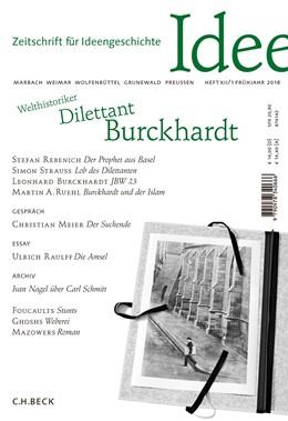 Abbildung von Zeitschrift für Ideengeschichte Heft XII/1 Frühjahr 2018 | 1. Auflage | 2018 | beck-shop.de