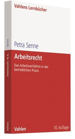 Abbildung von Senne | Arbeitsrecht | 10. Auflage | 2018 | beck-shop.de