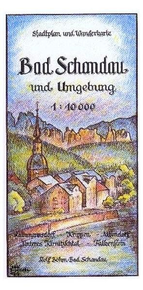 Abbildung von Böhm   Bad Schandau und Umgebung 1 : 10 000   3. Auflage   2017