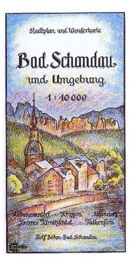Abbildung von Böhm | Bad Schandau und Umgebung 1 : 10 000 | 3. Auflage | 2017 | Rathmannsdorf - Krippen - Alte...