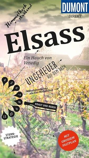 DuMont direkt Reiseführer Elsass | Kalmbach | 1. Auflage, 2018 | Buch (Cover)