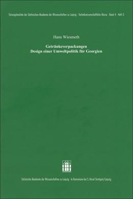Abbildung von Wiesmeth | Getränkeverpackungen Design einer Umweltpolitik für Georgien | 2017