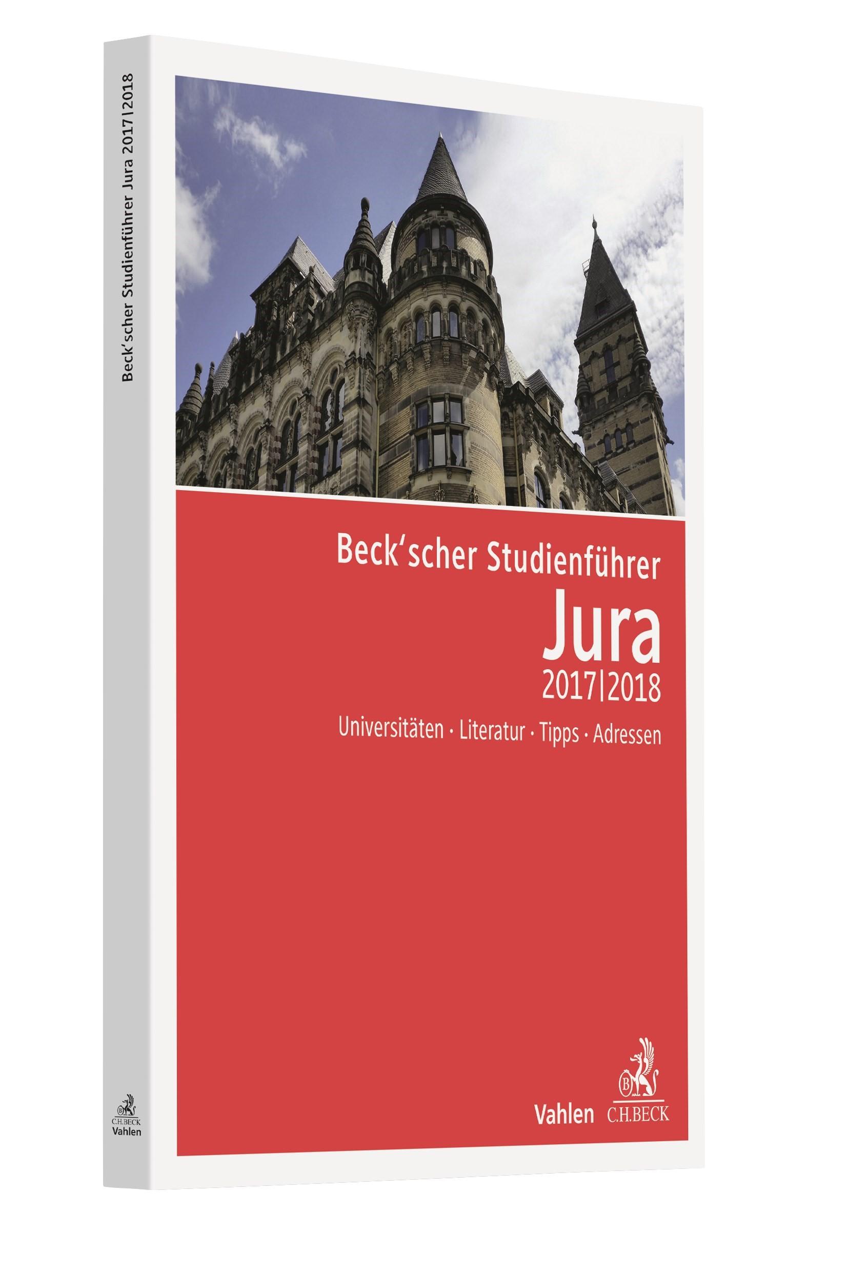 Beck'scher Studienführer Jura Wintersemester 2017/2018, 2017 | Buch (Cover)