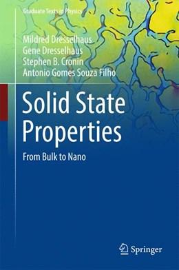 Abbildung von Dresselhaus / Cronin | Solid State Properties | 2018 | From Bulk to Nano