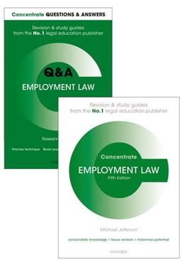 Abbildung von Russell / Jefferson | Employment Law Revision Pack | 1. Auflage | 2017 | beck-shop.de