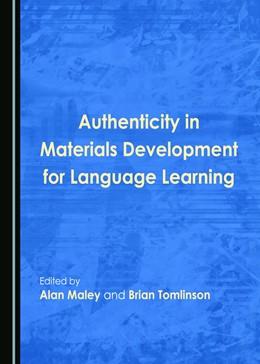 Abbildung von Maley / Tomlinson | Authenticity in Materials Development for Language Learning | 2017