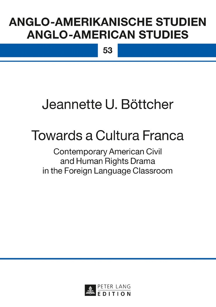 Abbildung von Böttcher | Towards a Cultura Franca | 2017