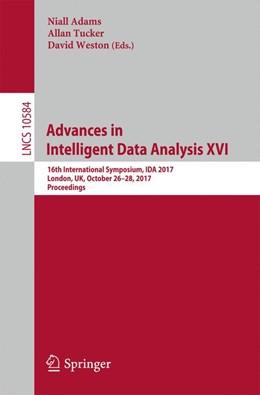 Abbildung von Adams / Tucker / Weston   Advances in Intelligent Data Analysis XVI   2017   16th International Symposium, ...