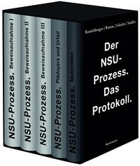 Der NSU Prozess   Ramelsberger / Schultz / Stadler, 2018   Buch (Cover)
