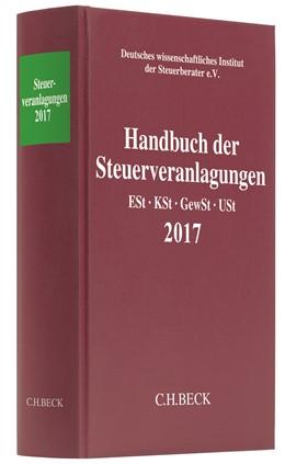 Abbildung von Handbuch der Steuerveranlagungen 2017   2018   Einkommensteuer, Körperschafts...