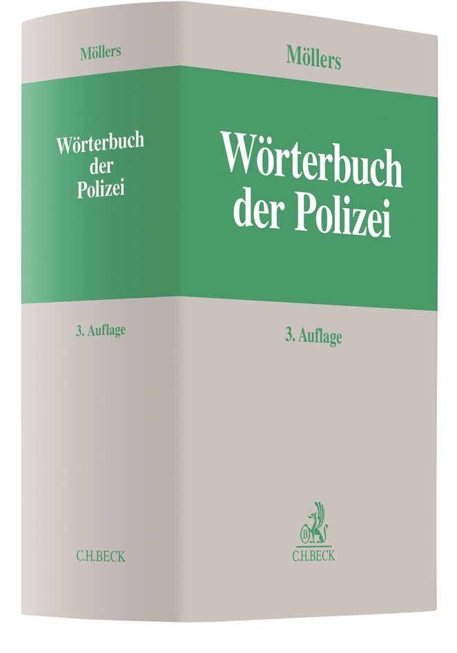 Wörterbuch der Polizei | Möllers | 3. Auflage, 2018 | Buch (Cover)