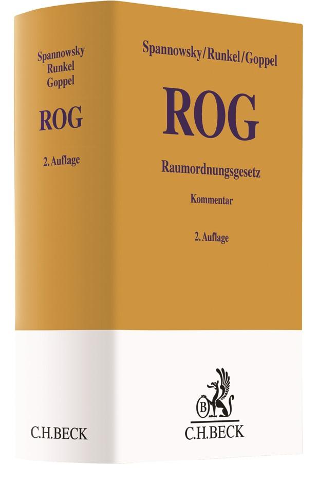 Raumordnungsgesetz (ROG) | Spannowsky / Runkel / Goppel | 2. Auflage, 2018 | Buch (Cover)
