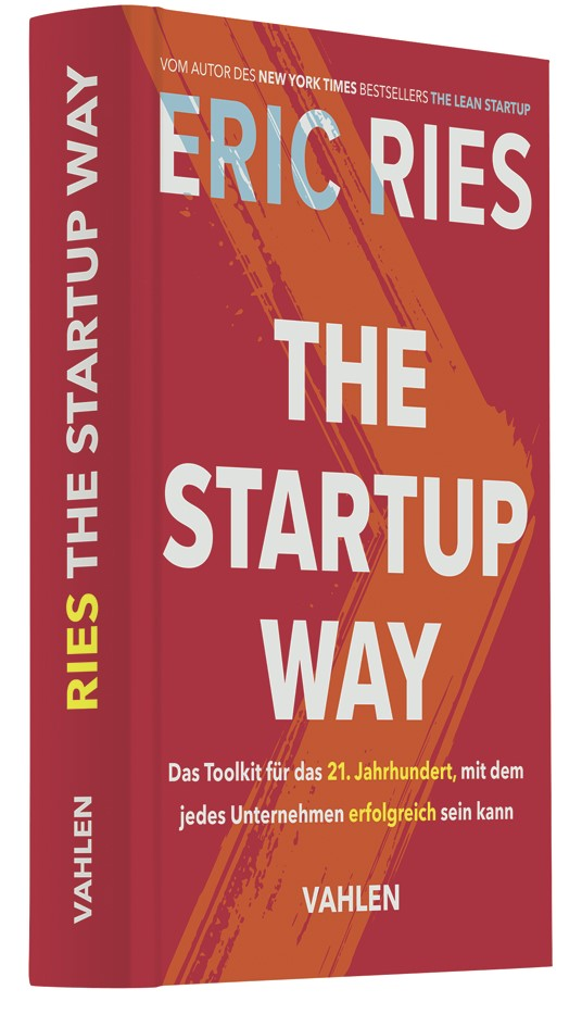 The Startup Way | Ries, 2018 | Buch (Cover)