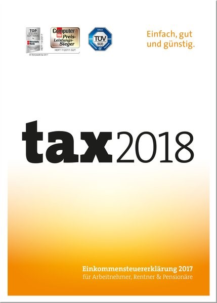 tax 2018, 2017 (Cover)