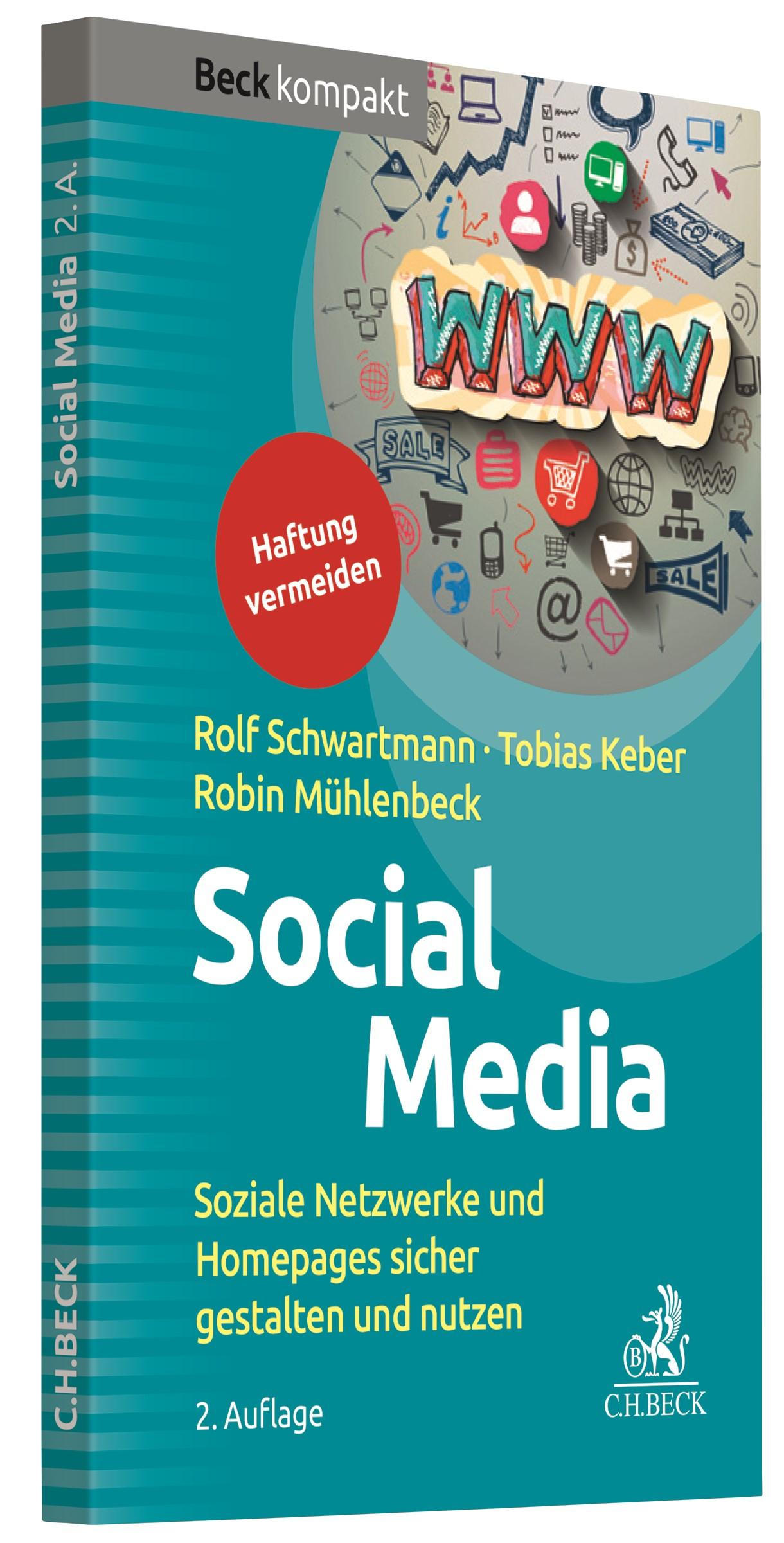 Social Media | Schwartmann / Keber / Mühlenbeck | 2. Auflage, 2018 | Buch (Cover)