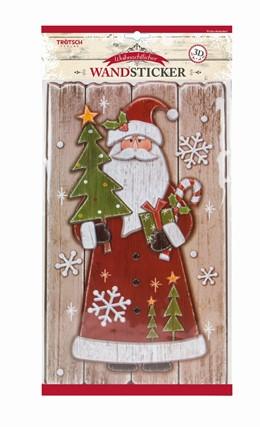 Abbildung von Weihnachtlicher Wandsticker in Holzoptik | 1. Auflage | 2017 | beck-shop.de