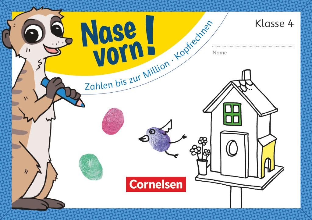 4. Schuljahr - Zahlen bis zur Million/Kopfrechnen, 2018 (Cover)