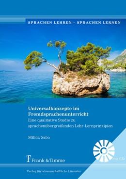 Abbildung von Sabo | Universalkonzepte im Fremdsprachenunterricht | 1. Auflage | 2017 | beck-shop.de