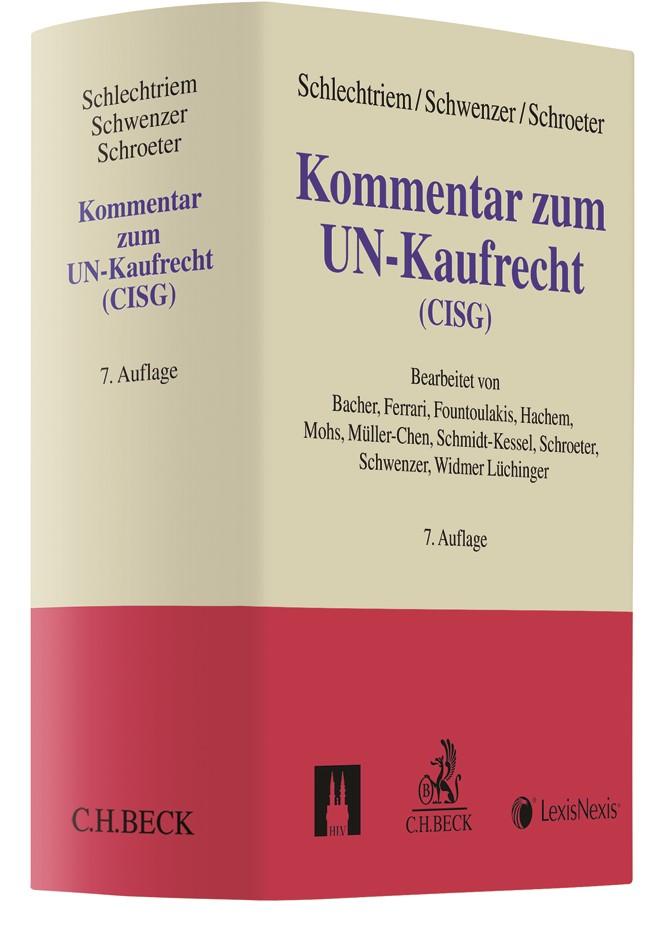 Kommentar zum UN-Kaufrecht (CISG) | Schlechtriem / Schwenzer / Schroeter | 7. Auflage, 2019 | Buch (Cover)