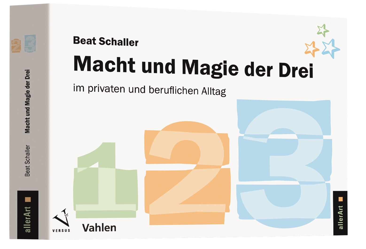 Macht und Magie der Drei | Schaller, 2017 | Buch (Cover)